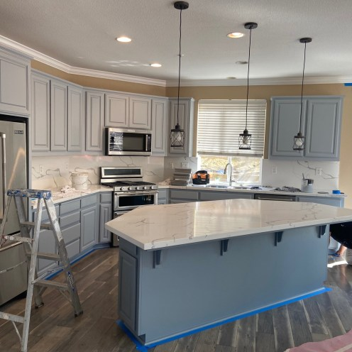 Vision Cabinet Painting and Refinishing